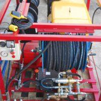 Modelos de alta presión de agua para limpieza