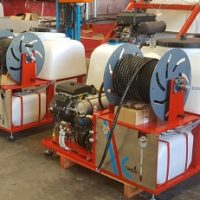 Máquina limpieza y desatasco tuberías HD-50/60 litros minuto
