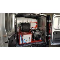 Máquina desatasco tuberías PORTO-66-200-35-600