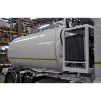 Cuba aspiración de lodos sobre camión