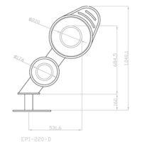 Halador de trasmallo de dos carretes EPI-220-D