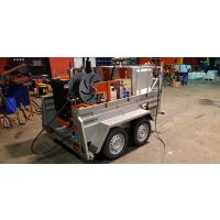Máquina desatascos autónoma METZ-85-220-65-800-d