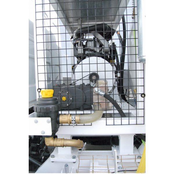 Equipo de alta presión de agua con motor Diesel